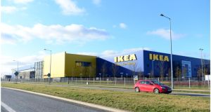 Ikea Ballymun, Dublin: company looking to expand its presence  in  the  Irish  market at Cherrywood  due to  the  success  of  its  first store  in  Ballymun.