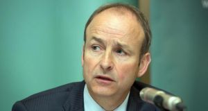 "Fianna Fáil leader Micheál Martin: ""I'm not going to comment on unsubstantiated stories. My entire focus is on the campaign"""