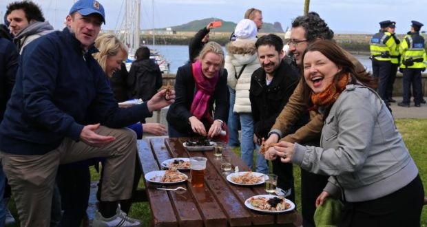 Festival Fit Turning The Dial At The Dublin Bay Prawn Festival