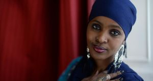 Ifrah Ahmed: FGM is now illegal in Ireland and Ifrah hopes to stop the practice of it in Somalia. Photograph: Dara Mac Dónaill