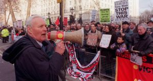 'The late Tony Benn  believed that some of the defining characteristics of old England had been sacrificed to the British scheme of things.'  Photograph: AP Photo