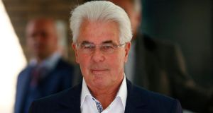 Max Clifford has been sentenced to eight years in prison Photograph: Andrew Winning/Reuters