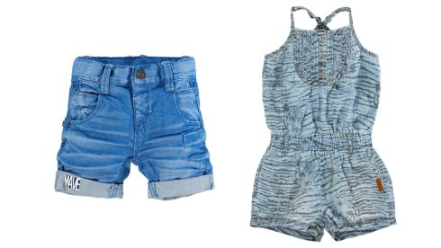 Cramer denim long shorts, €22.95, Clerys Caja kids denim short suit, €29.95, Clerys