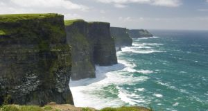 "Cliffs of Moher: ""Quaint villages and world-class sites such as the Cliffs of Moher and the Giant's Causeway are recognised by about two-thirds of respondents and have the greatest appeal among this target audience."""