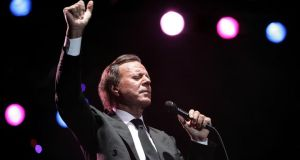 Julio Iglesias on stage in South Africa. Photograph: Michelly Rall/Wireimage