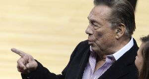 "Los Angeles Clippers owner Donald Sterling. The NBA banned Sterling for life for ""deeply offensive and harmful"" racist comments that sparked a national firestorm in the USA. Photo: Robyn Beck/Getty"