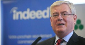 Eamon Gilmore: negotiators from parties have settled their differences over water charges
