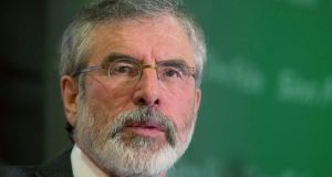 Sinn Féin president Gerry Adams said the old guard which is against change cannot be allowed to deny any of the people from our entitlement to a rights-based, citizen-centred society as set out in the Good Friday Agreement.