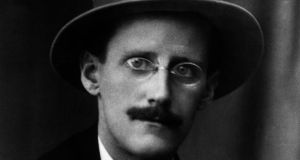 The Irish Naval Service is to take delivery of a 'weaponised naval system', or ship, named after writer James Joyce (above) next year. Photograph: Hulton Archive/Getty