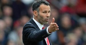 Ryan Giggs' future is in the balance as his tenure as interim Manchester United manager finishes after Sunday's final match, the trip to Southampton, and his one-year playing contract also expires in the summer. Photograph;  Nigel Roddis/Reuters