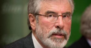 "Sinn Féin activists expressed confidence that the arrest of Mr Adams ""had put a rocket under the Sinn Féin European and local election campaign"" on both sides of the Border. Photograph: Reuters"