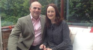 Ukip candidate Jim Carver, pictured at home in Gloucestershire with his partner,Armagh-born Ann Silcock, is set to take a European Parliament seat in the election on May 22nd.
