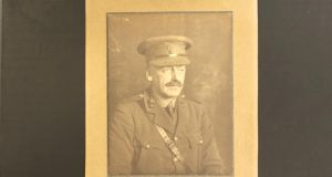 Lt-Col Coote Hely-Hutchenson: The houses and land in Swords and Donabate were left  to him.  Photograph: Peter Murtagh