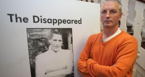 Michael McConville, son of murdered Belfast woman Jean McConville, who has called for an independent investigation by a team from outside Northern Ireland so no political pressure is applied. Photograph: PA