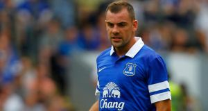 Darron Gibson could be back in action with the Republic of Ireland team soon. Photograph: Paul Thomas/Getty Images
