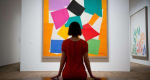 A work by Henri Matisse at the Tate Modern in London. Photograph: Leon Neal/AFP/Getty Images