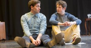 Anthony Delaney (Alec) and Ryan McParland (Jerry) in  How Many Miles to Babylon?