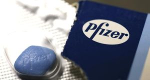 The furore created by Pfizer's  £63 billion (€77 billion) bid for AstraZeneca  neared fever pitch yesterday. Photographer: Bloomberg