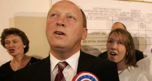 Jim Allister: sees himself as a serious contender rather than a unionist vote splitter. Photograph: Dara Mac Dónaill