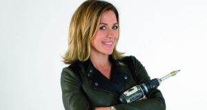 Sarah Beeny asked her Twitter followers to suggest essential DIY skills which she compiled into a list of 100 jobs. Photograph: John Carey