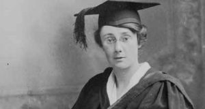 Dorothy Stopford Price at her Trinity College Dublin graduation