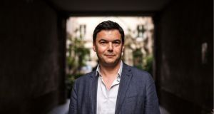 French economist Thomas Piketty. His work has fueled fierce debates about inequality. Photograph: Ed Alcock/The New York Times