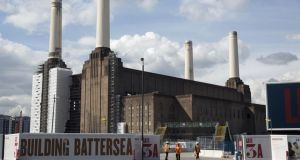 Redeveloped Battersea Power Station site looks set to become a hip London locale. Photograph: Getty Images