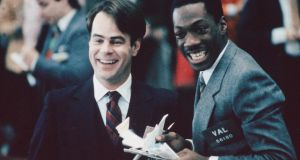 Dan Aykroyd and Eddie Murphy in 'Trading Places'. Their characters' antics would be an anachronism today. Photograph: Paramount