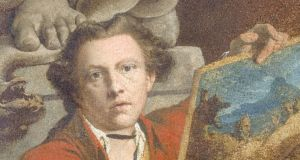 James Barry: 'Self-portrait as Timanthes'. Photograph courtesy of the National Gallery of Ireland