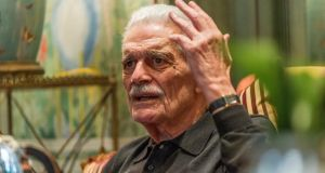 Omar Sharif: 'When you're working in films, you find a lady and you flirt with her instead of being bored.' Photograph: Des Harris/The Picture Desk
