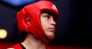 "Katie Taylor: ""There's pressure in every single fight that I go into. But I think it's a huge privilege going in as a defending champion"". Photograph: James Crombie/Inpho"