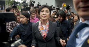Thai Constitutional Court has ruled that Thai Prime Minister, Yingluck Shinawatra, and 9 cabinet ministers are to step down. Photograph: Borja Sanchez-Trillo/Getty Images