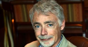 "Eoin Colfer: ""I feel I am representing my family and my county and indeed all book people in Ireland, which is not something I mean to take lightly. I intend to spend my time spreading stories to every nook and cranny in the country.""   Photograph: Brenda Fitzsimons/The Irish Times"