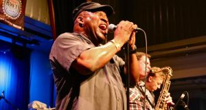 Barrence Whitfield was savage at Kilkenny Roots Festival