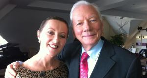 Openness: Majella O'Donnell (left) with Gay Byrne