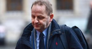 Whistleblower Sgt Maurice McCabe made his allegations as far back as May 2008, when he was stationed in Cavan-Monaghan.  Photograph: Cyril Byrne/The Irish Times