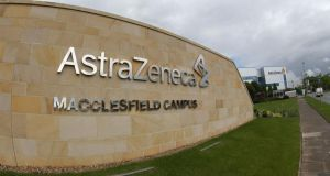A general view of the Macclesfield Campus of pharmaceutical company AstraZenica.