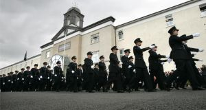 'Police misconduct must be effectively deterred, by penal sanctions where the criminal law has been violated, and in other instances by effective disciplinary measure.' Above, members of An Garda Síochána on parade during a graduation ceremony in Garda Colllege, Templemore. Photograph: Dara Mac Dónaill