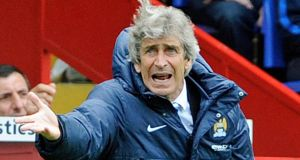 "Manchester City manager Manuel Pellegrini says he was a ""mad dog"" during his playing career."