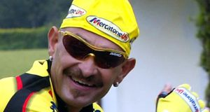 The late Italian cyclist Marco Pantani: became hopelessly addicted to performance enhancing drugs and, six years after his Giro victory in 1998, was found dead in a hotel room in Rimini. Photo: Franck Fife/AFP/Getty