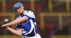 Willie Hyland of Laois: five-point haul.
