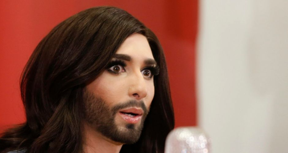 Bearded Conchita takes the Eurovision