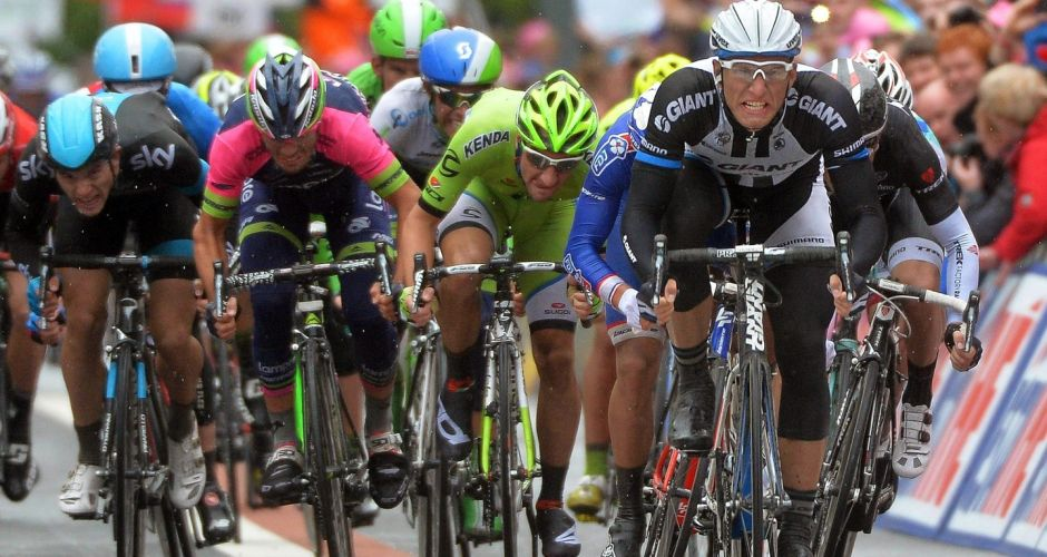 The Giro d'Italia in Ireland