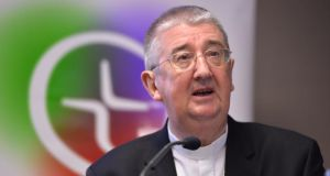 Archbishop Diarmuid Martin, speaking during a conference in February. File photograph: Alan Betson / The Irish Times