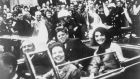 President John F. Kennedy, first lady Jacqueline Kennedy and Texas governor John Connally  and his wife in the presidential motorcade moments before Kennedy was shot in Dallas,Texas, on November 22, 1963. Friday, November 22nd, 2013