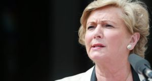 'Minister for Justice Frances Fitzgerald referred to what is happening in the Garda as a crisis. It is not – alas.' Photograph: Laura Hutton/Photocall Ireland