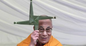 The 14th Dalai Lama, the spiritual leader of Tibetan Buddhism, in Kildare in 2011. Photograph: Brenda Fitzsimons