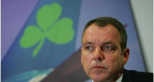 Christoph Mueller: may deserve his increased pay packet but the argument that his actions saved Aer Lingus and tripled the share price needs more consideration. Photograph: Bryan O'Brien