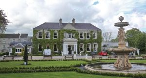 The Finnstown Country House Hotel in Lucan. Photograph: Collins Dublin.