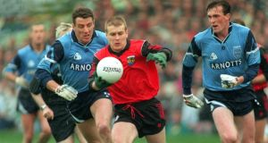 Current Down manager James McCartan in action during the 1994 All-Ireland final against Dublin. Photograph: Inpho